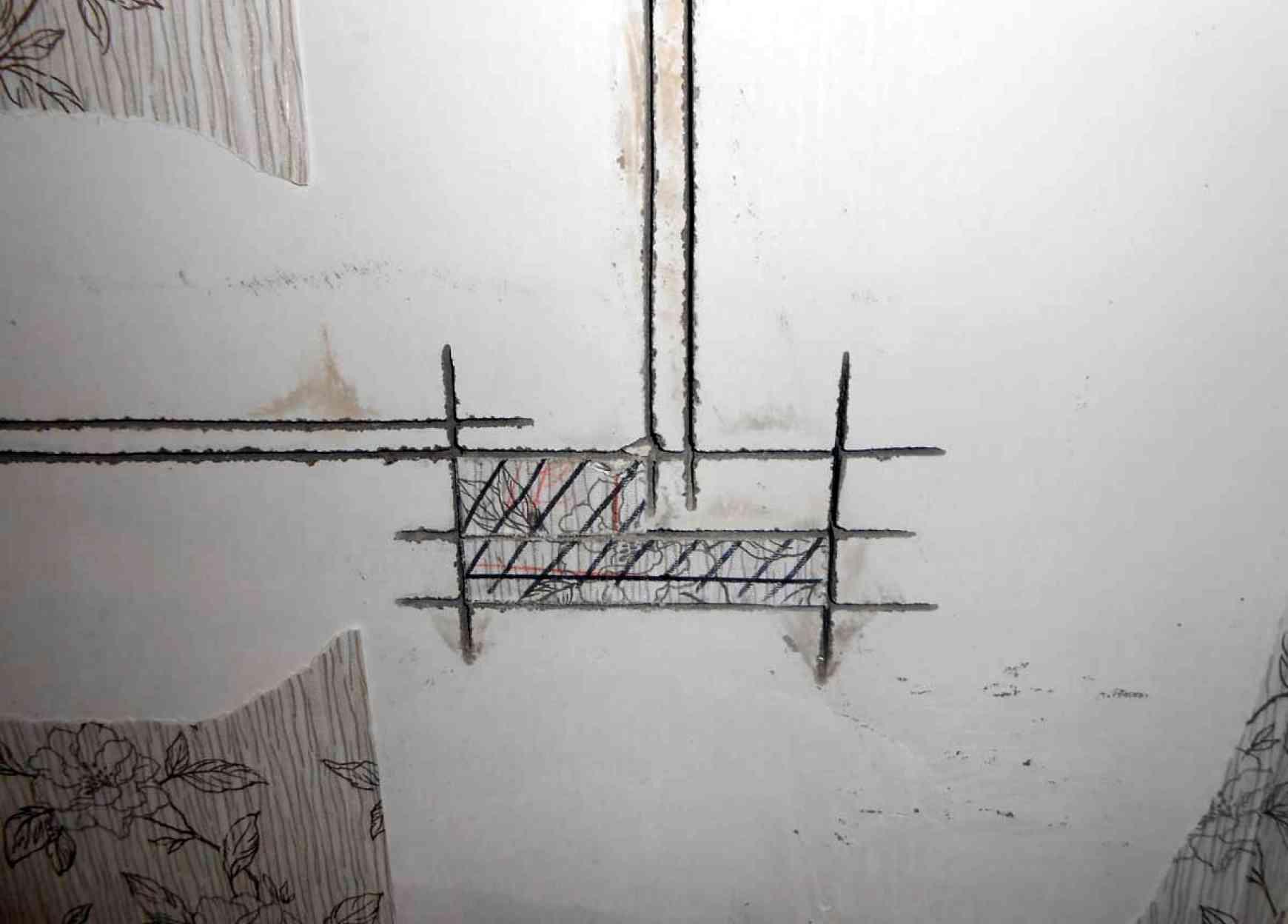 Штробление стен под электропроводку
