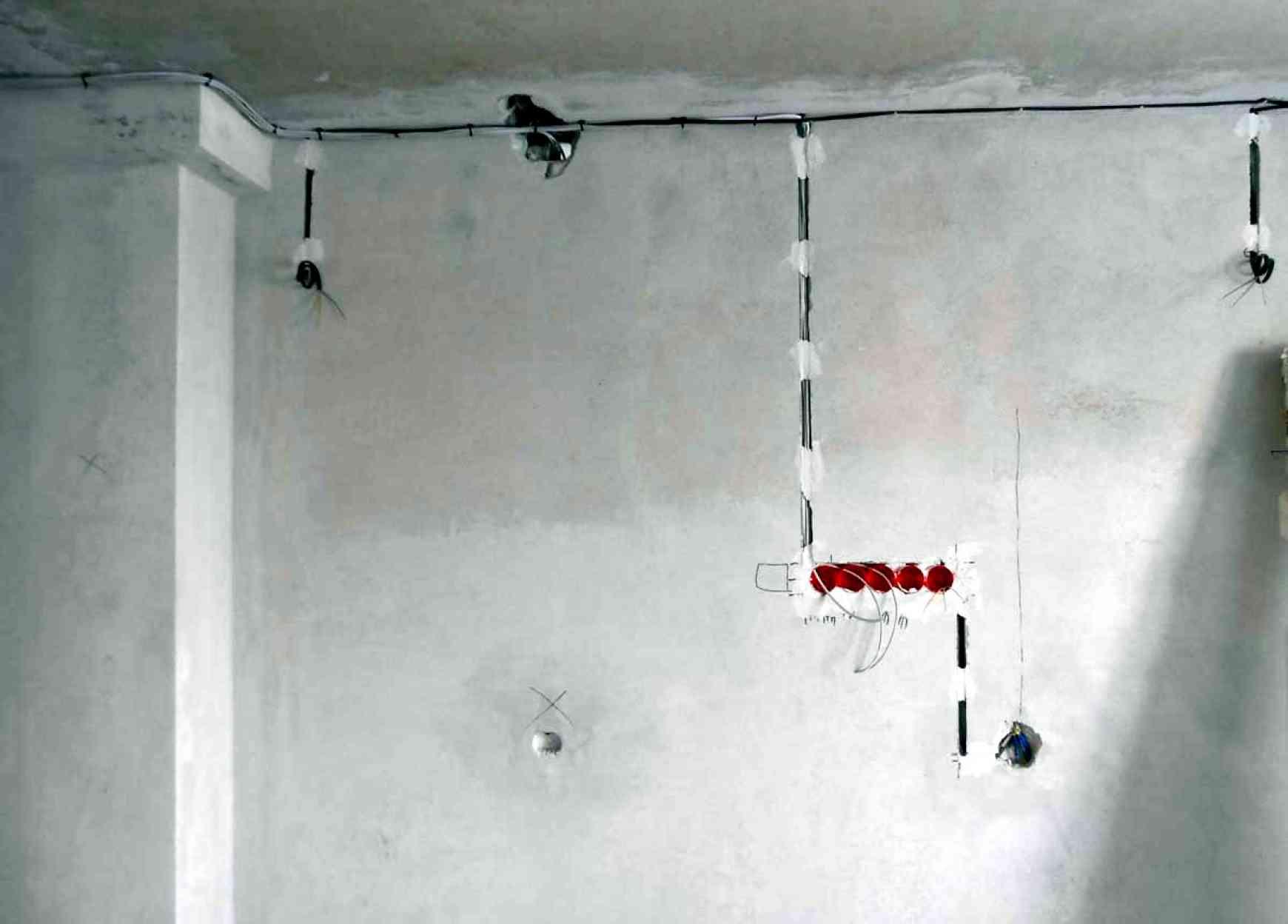 Монтаж проводки в квартире